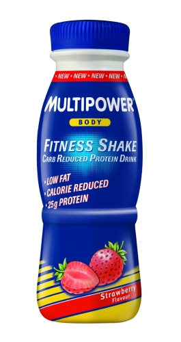 Multipower Fitness Shake hotov� n�poj 330ml