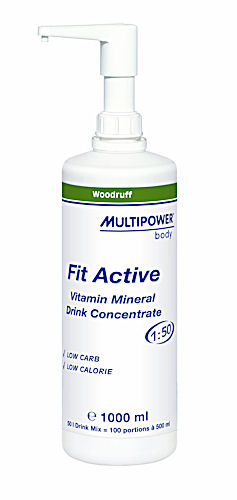 MultiPower Fit Active koncentr�t 1 litr