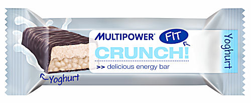 MultiPower Crunch! Fit 45g delicious energy bar