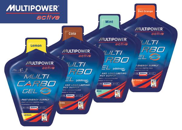 MultiPower Multi Carbo Gel 40g