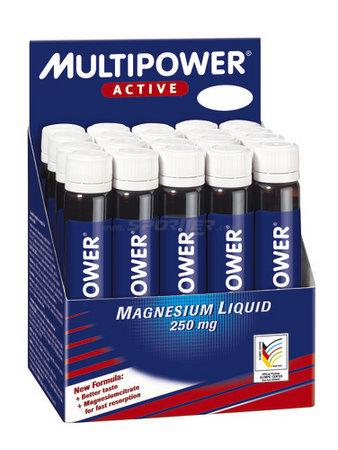 Multipower Magnesium Liquid 20 plastov�ch ampul�