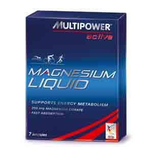 Multipower Magnesium Liquid 7 plastov�ch ampul�