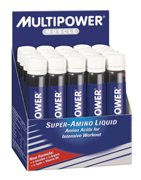 Multipower Super Amino Liquid 20 plastov�ch ampul�