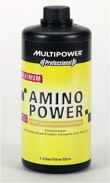 MultiPower Maximum Amino Power 1000 ml/518g aminokyselin
