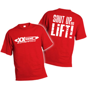 XXtreme Nutrition Triko Shut Up And Lift