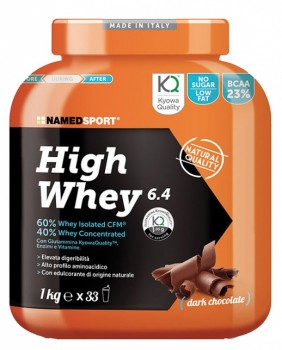 NamedSport HIGH WHEY 6.4 1000 g (foto)