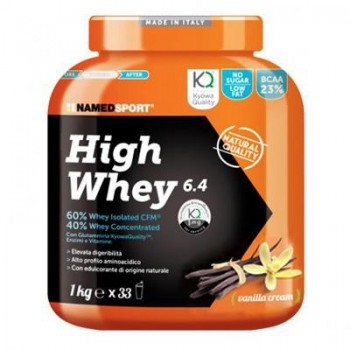 NamedSport HIGH WHEY 6.4 1000 g