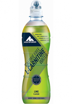 Multipower L-Carrnitine Water – 500ML LIME (foto)